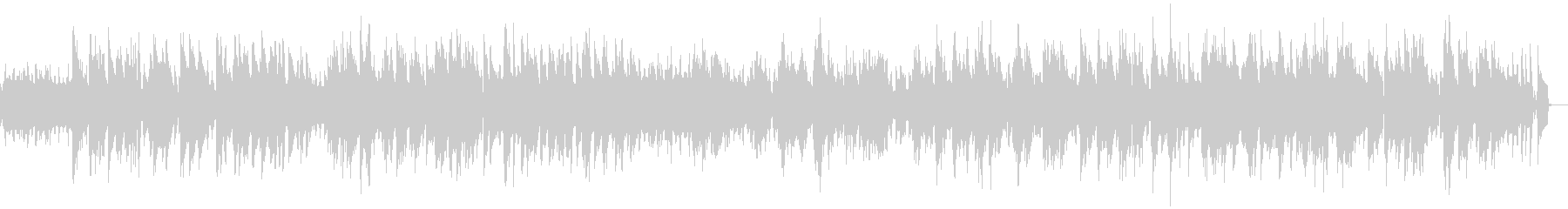 物憂げなピアノのジャズバラードの未再生の波形