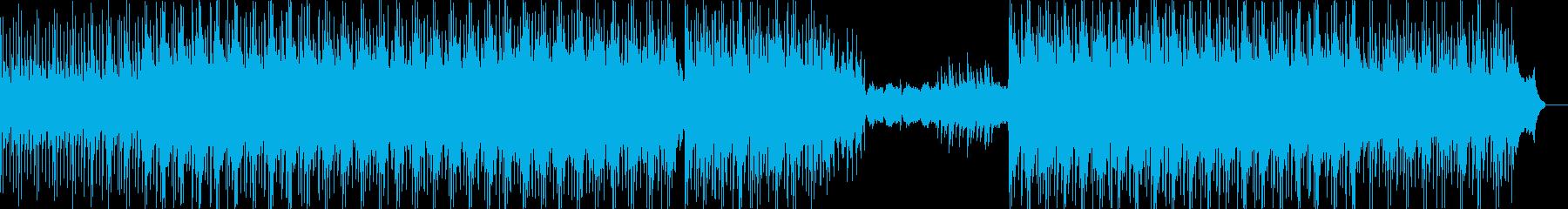 ロードラムのボサノバ、シンセパッド...の再生済みの波形