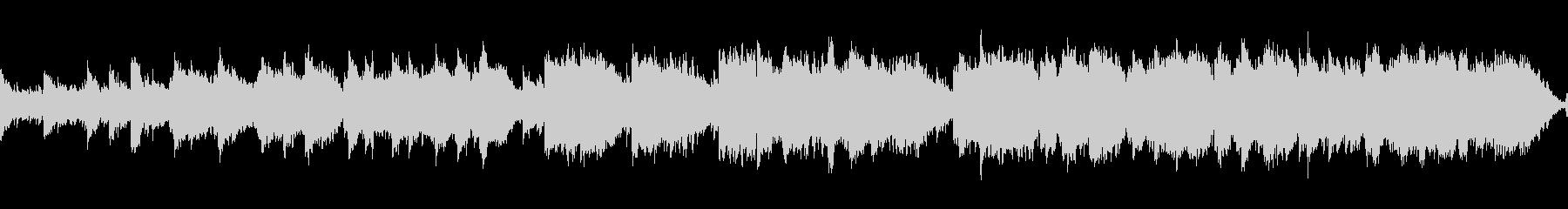優しいケルト曲(ループ)の未再生の波形