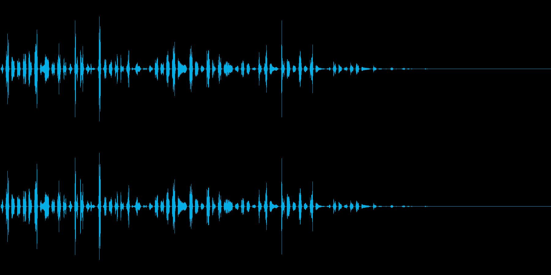 247 へんてこなリズムの再生済みの波形