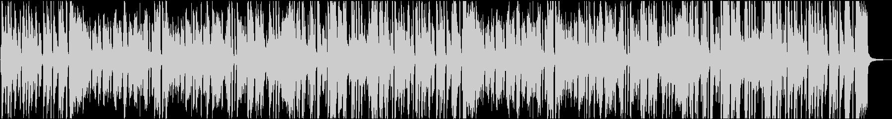 ブラスとバイブのジャズ版「ジングルベル」の未再生の波形