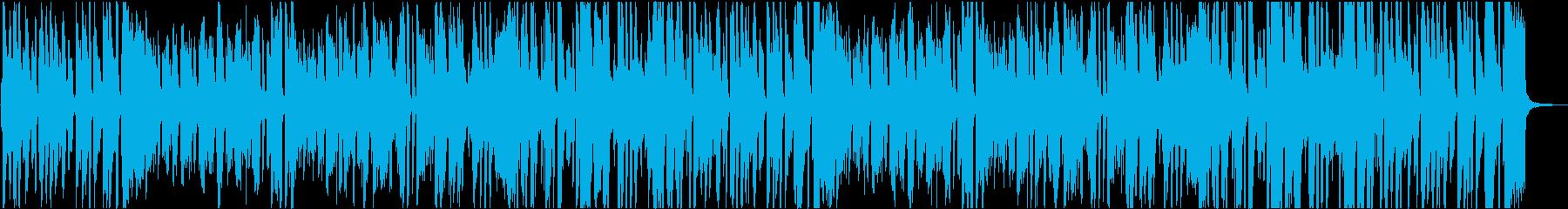 ブラスとバイブのジャズ版「ジングルベル」の再生済みの波形
