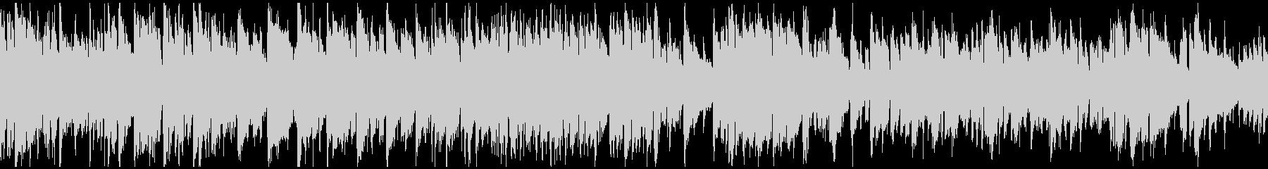 スマートな現代的ジャズ ※ループ仕様版の未再生の波形