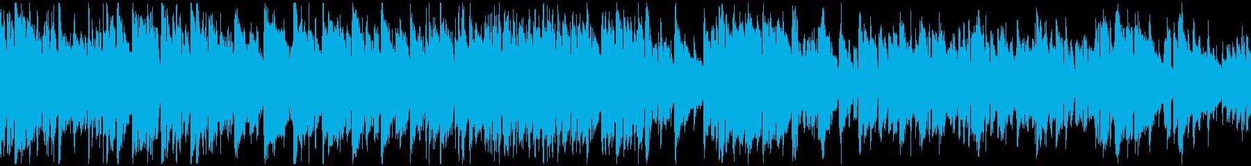 スマートな現代的ジャズ ※ループ仕様版の再生済みの波形