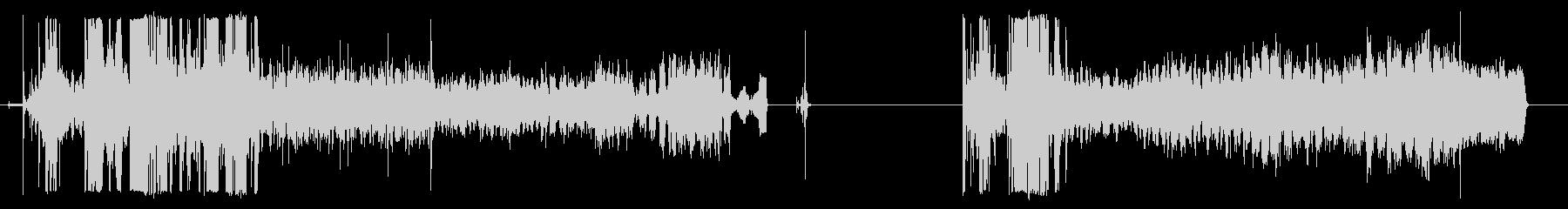 アルミ缶クラッシャー、2バージョン...の未再生の波形