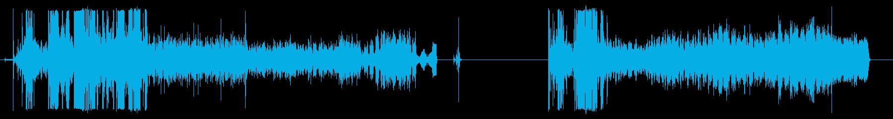 アルミ缶クラッシャー、2バージョン...の再生済みの波形