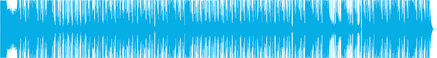 USA風HIPHOPトラックの再生済みの波形