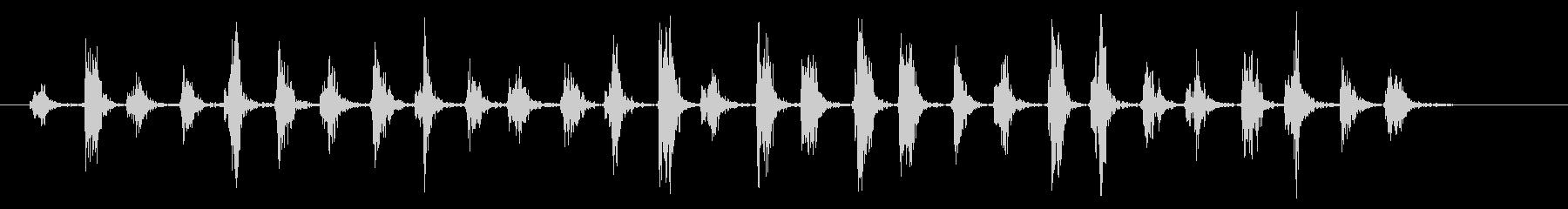 下敷き01-1の未再生の波形