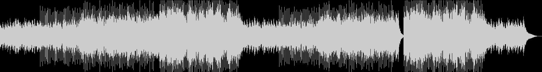 透明感のあるコーラスとピアノの日常BGMの未再生の波形