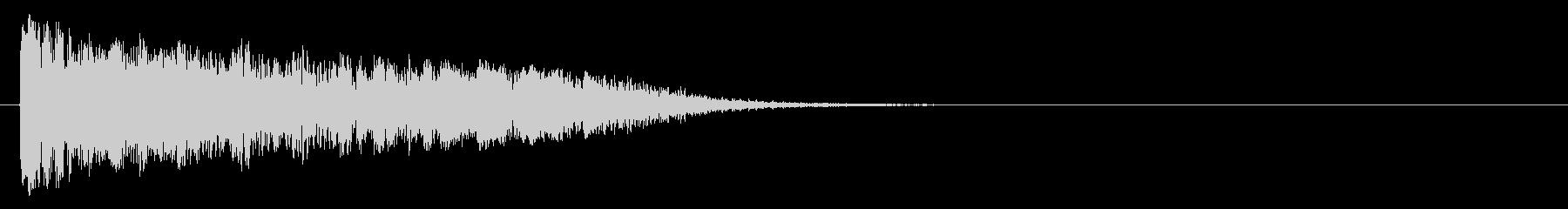 電気ヒット、衝突、コンピューター、...の未再生の波形