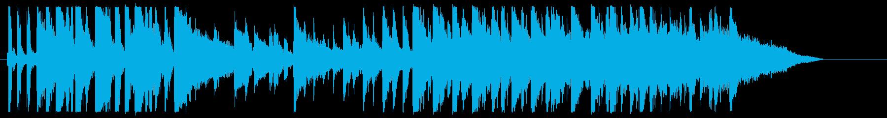 CM ギター 1本の道を果てし無く進むの再生済みの波形