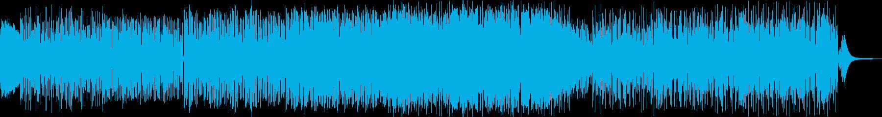 サウンドスケープ用のクールな雰囲気...の再生済みの波形