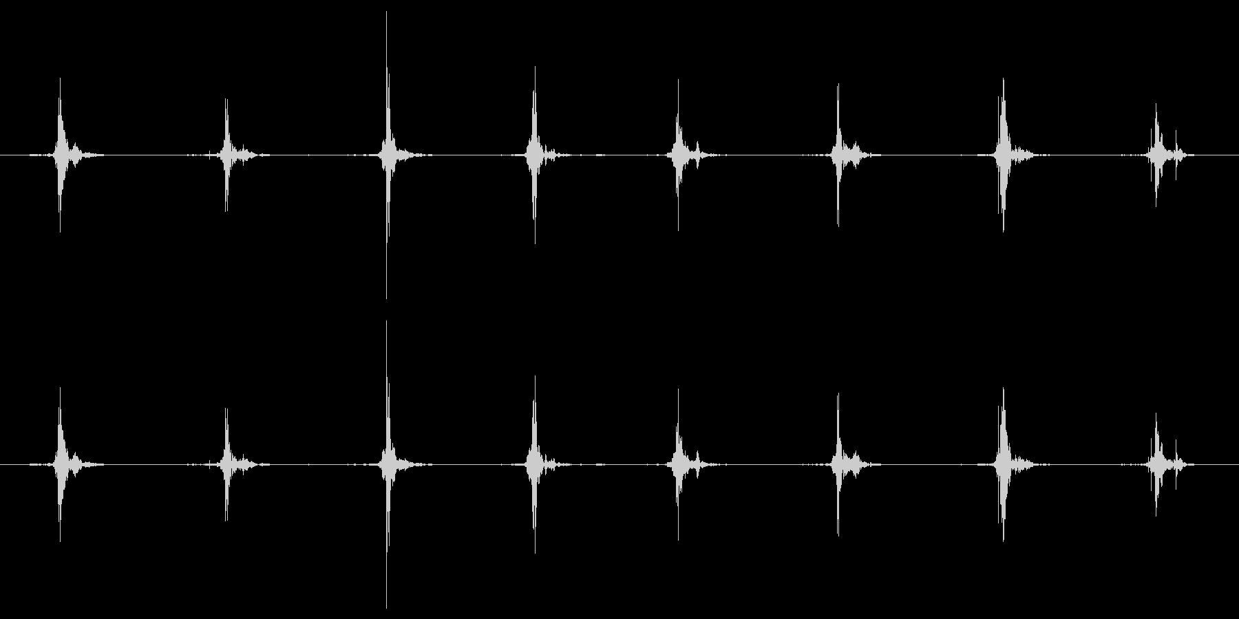 鳥 翼フラップ06の未再生の波形