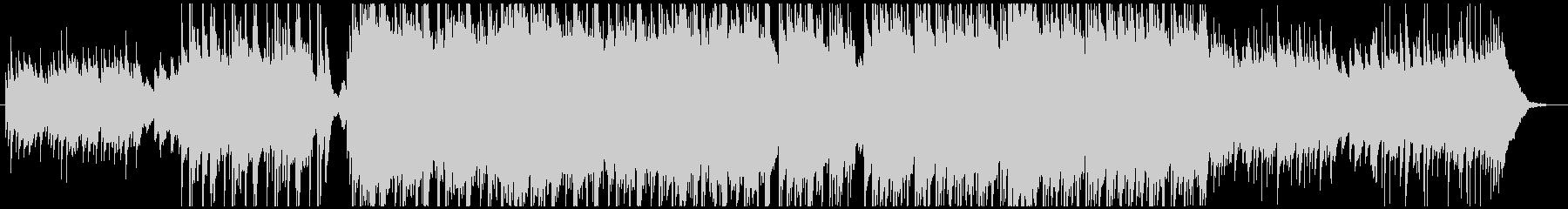 しっとりとした曲調のピアノインストの未再生の波形
