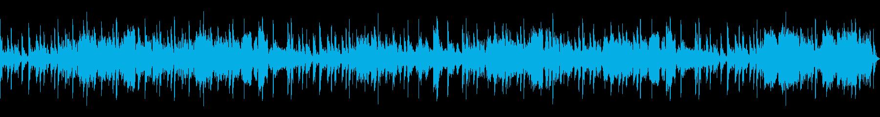 ボーカルによるパーカッションリズム...の再生済みの波形