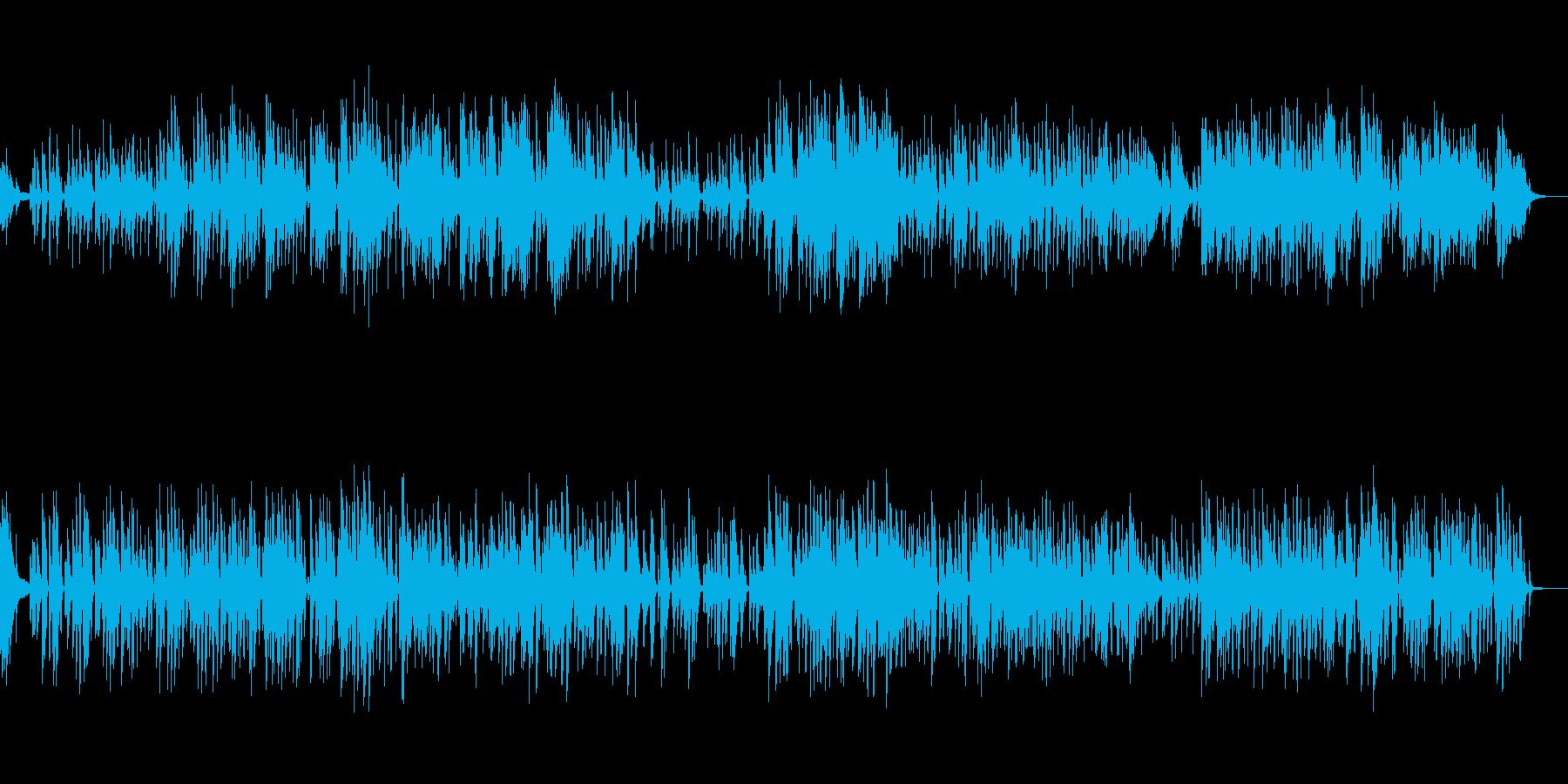 ゆったりとした雰囲気のジャズの再生済みの波形