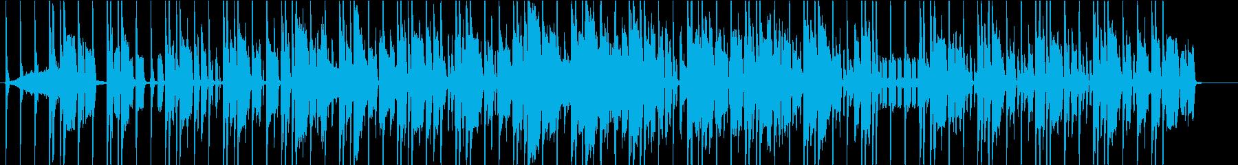 ちょっぴりレトロなヒップホップですの再生済みの波形