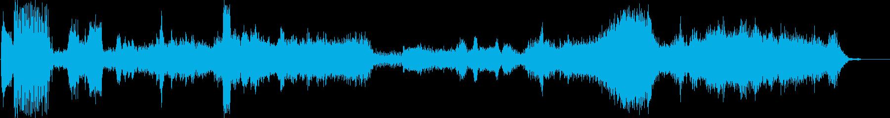 ロボットの動き、サーボ、ウィズ、ワ...の再生済みの波形