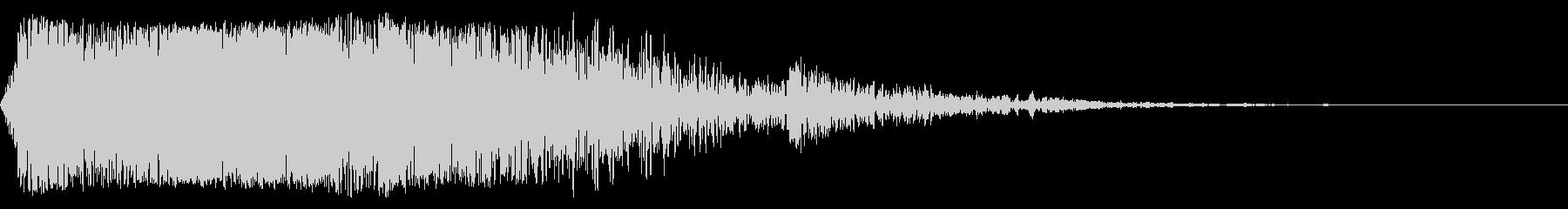 ハード、ピアスメタルインパクト、フォリーの未再生の波形