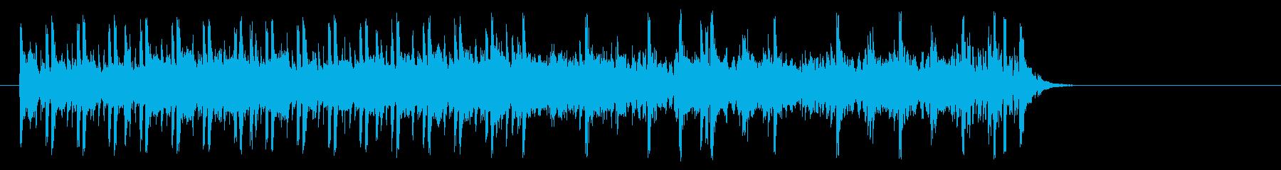 充実感溢れるポップ(A~イントロ~エ…)の再生済みの波形
