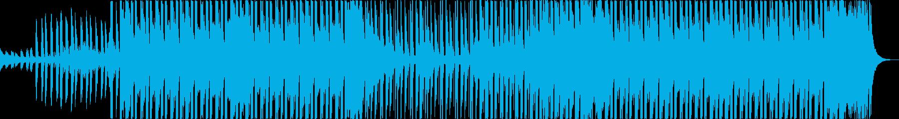 おしゃれ洋楽トラップヒップホップレゲエbの再生済みの波形
