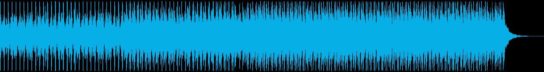 高揚感あふれるポップ(ミディアム)の再生済みの波形