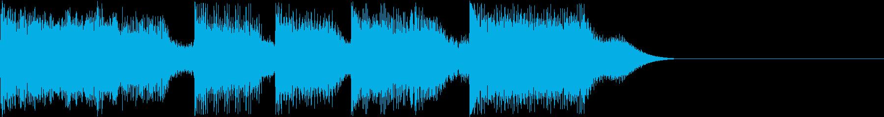 AI メカ/ロボ/マシン動作音 41の再生済みの波形