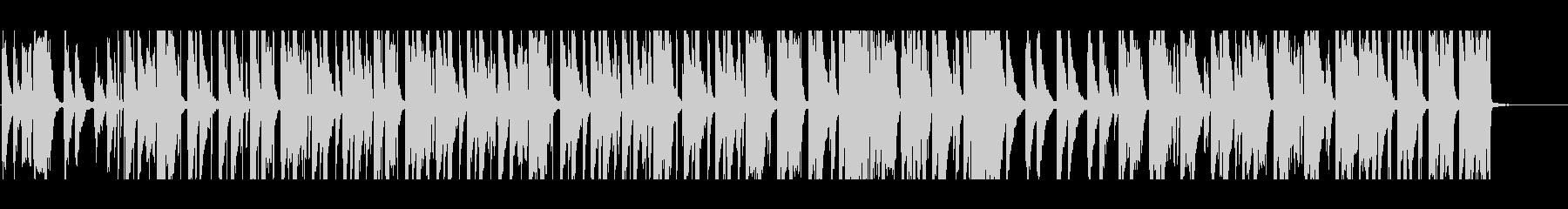 女性英語歌詞 チルベッドタイムバラードの未再生の波形