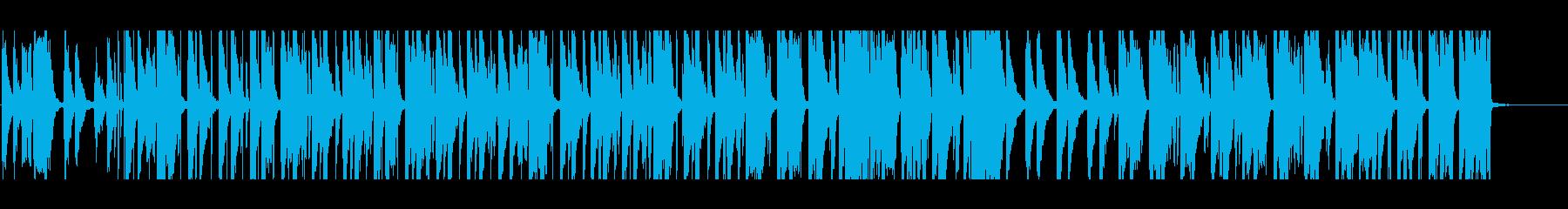 女性英語歌詞 チルベッドタイムバラードの再生済みの波形
