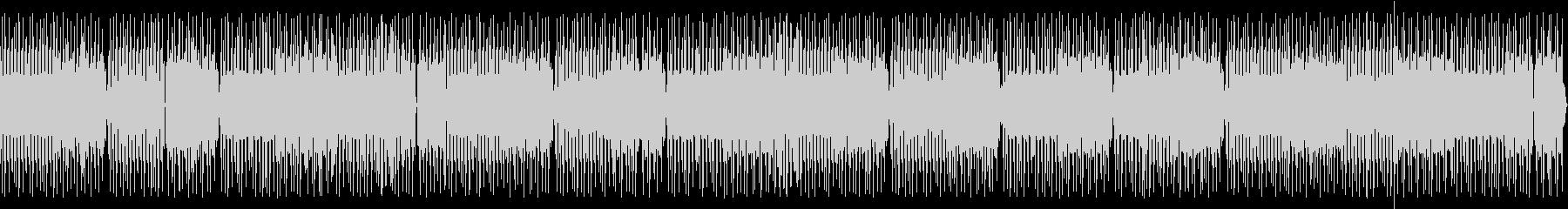 喋り動画用_ローテンポなトランス系BGMの未再生の波形