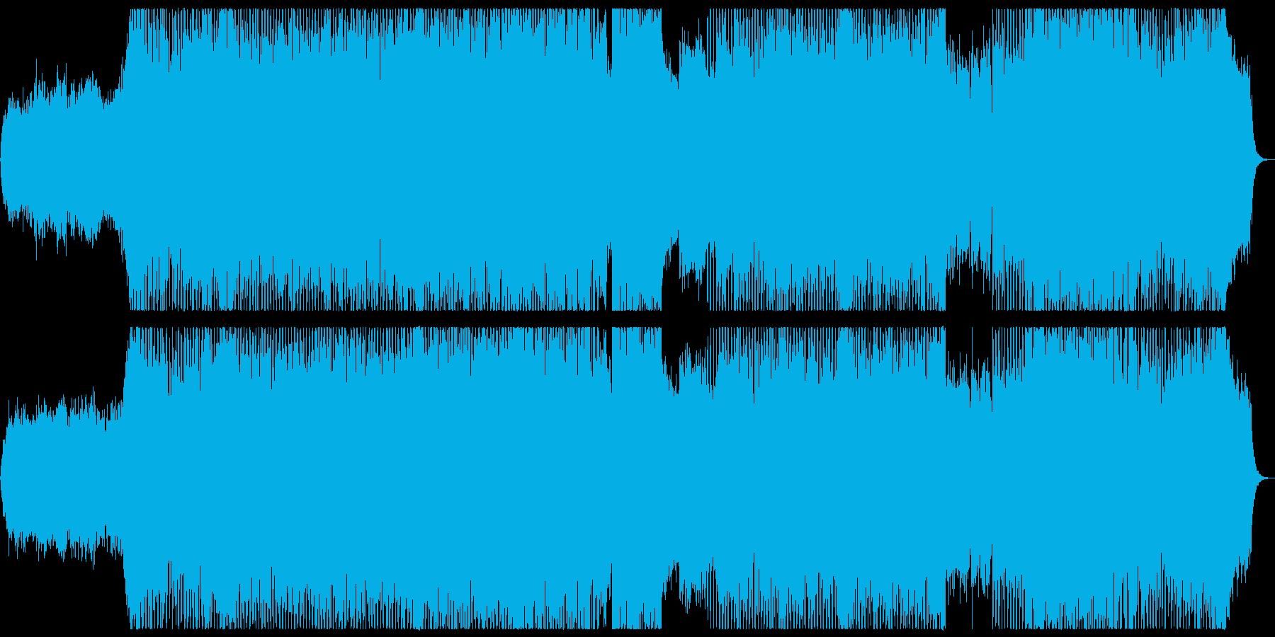 都会的でカッコいいトランペット曲Aの再生済みの波形