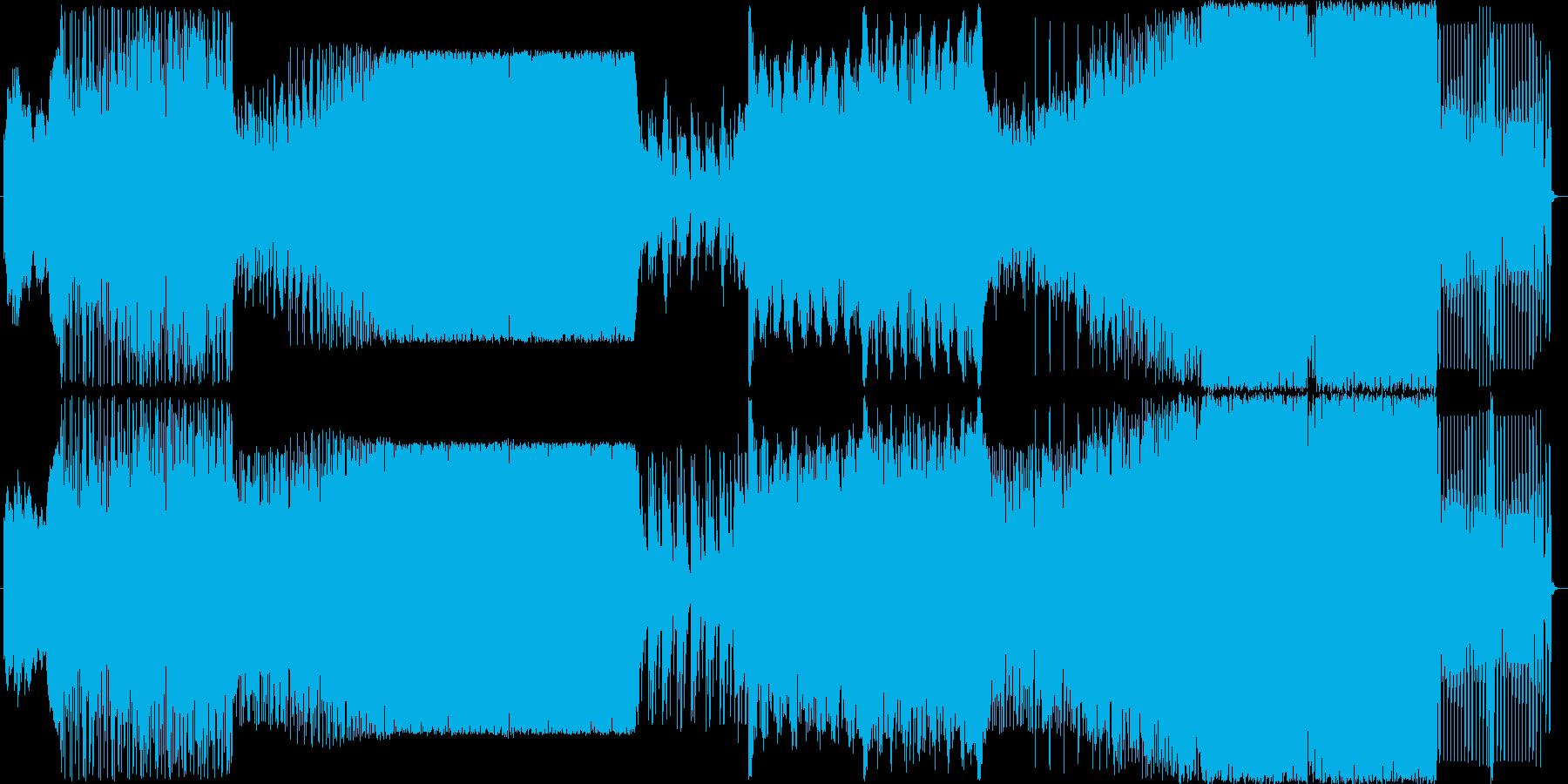 ジャンプしてなれそうなEDM曲の再生済みの波形