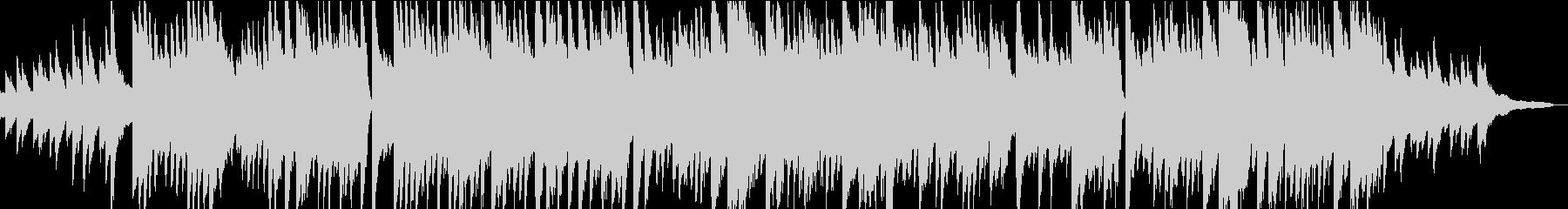 優しいピアノソロBGMの未再生の波形