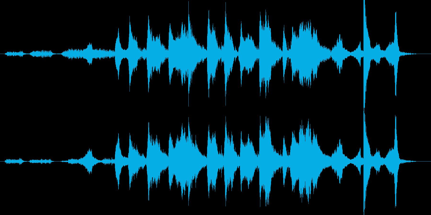恐怖ホラー系インスト、SE。ロング尺。…の再生済みの波形