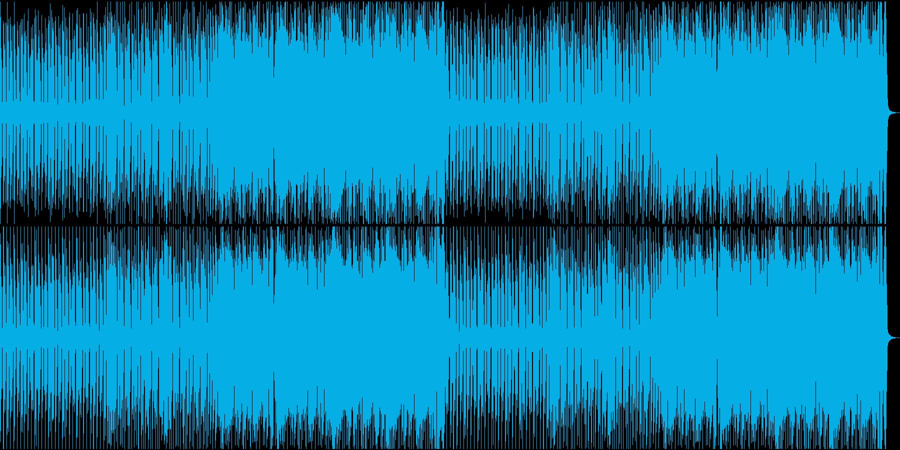 切迫したエレクトロの再生済みの波形