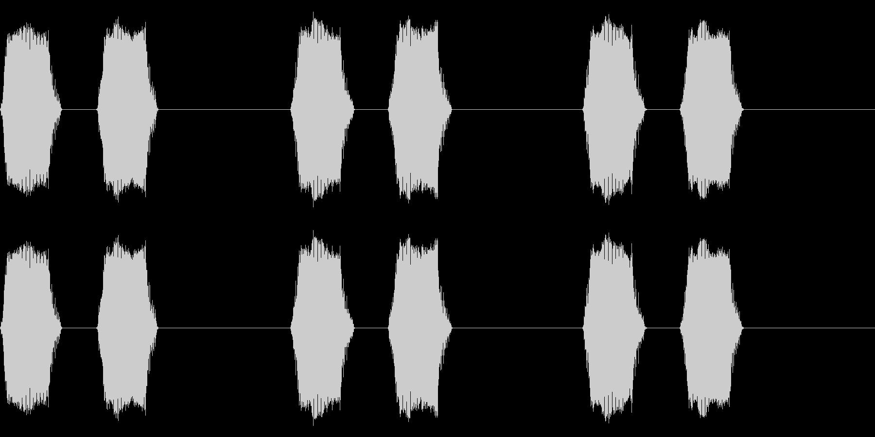 携帯電話 バイブレーション02-04(手の未再生の波形
