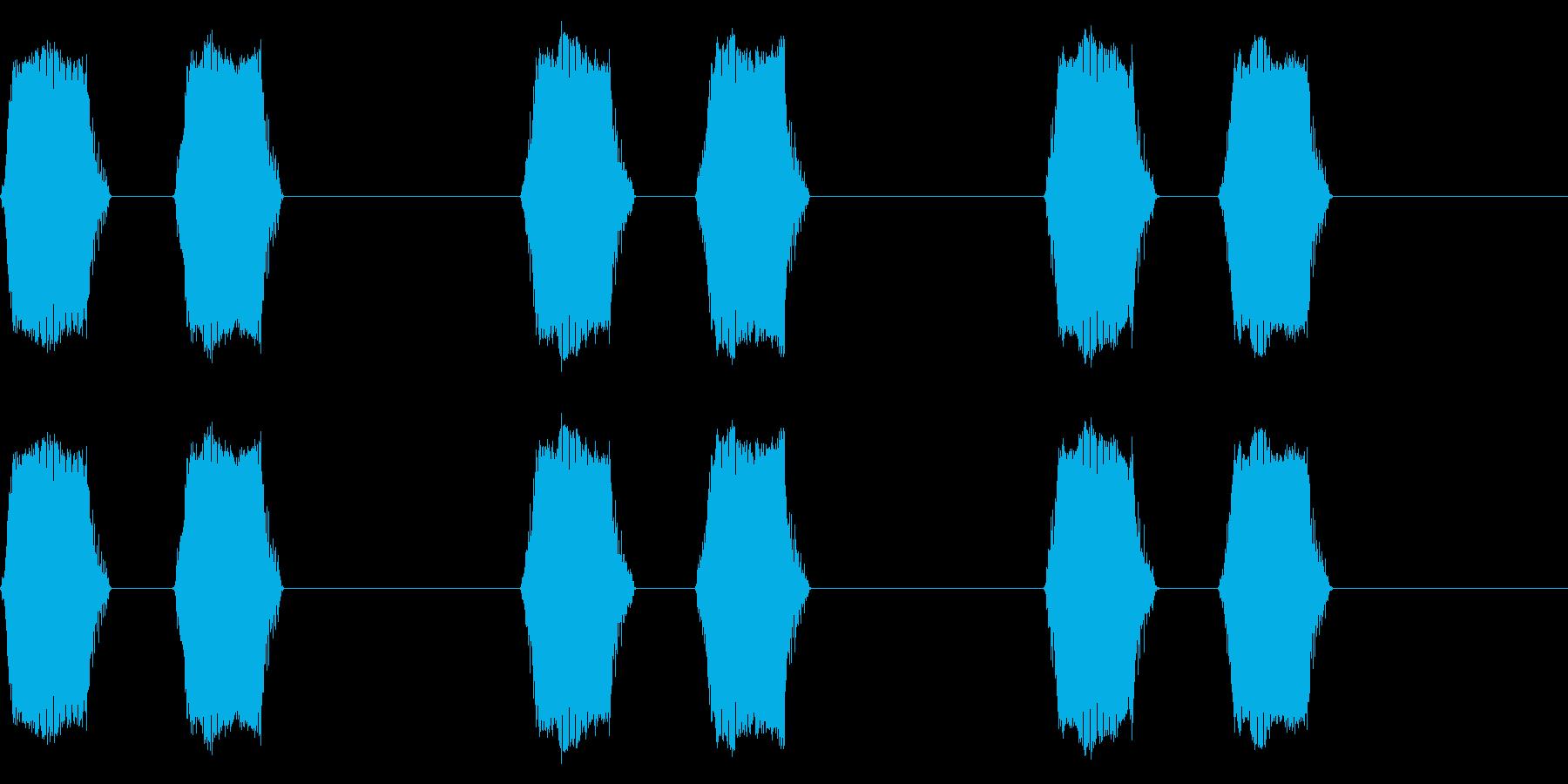 携帯電話 バイブレーション02-04(手の再生済みの波形