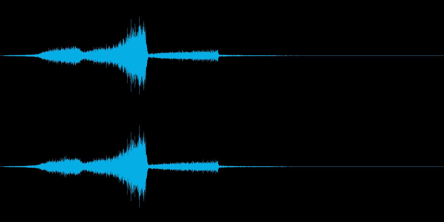 タイトル/ロゴ/テロップ ⑦ 風の再生済みの波形