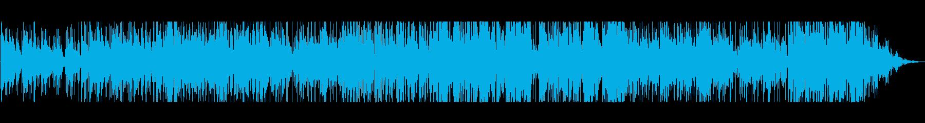 ほのぼのとしたインストの再生済みの波形
