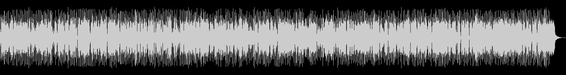 ノリの良いシンセ系ディスコテクノビートの未再生の波形