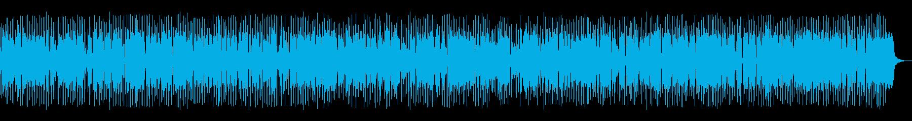 ノリの良いシンセ系ディスコテクノビートの再生済みの波形