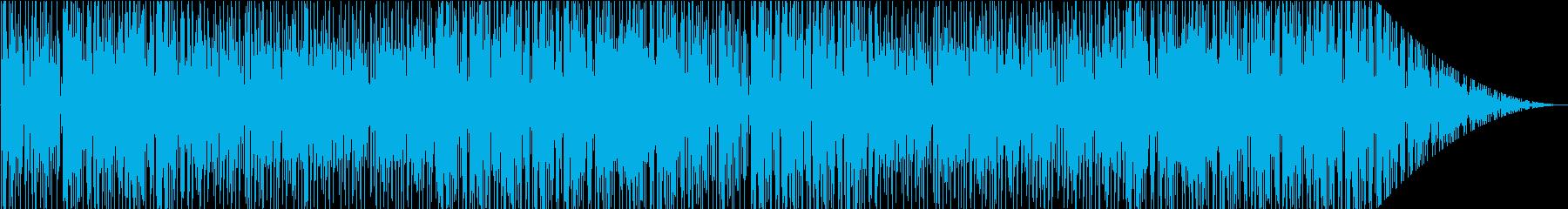 ゆったりともの悲しげなヒップホップの再生済みの波形