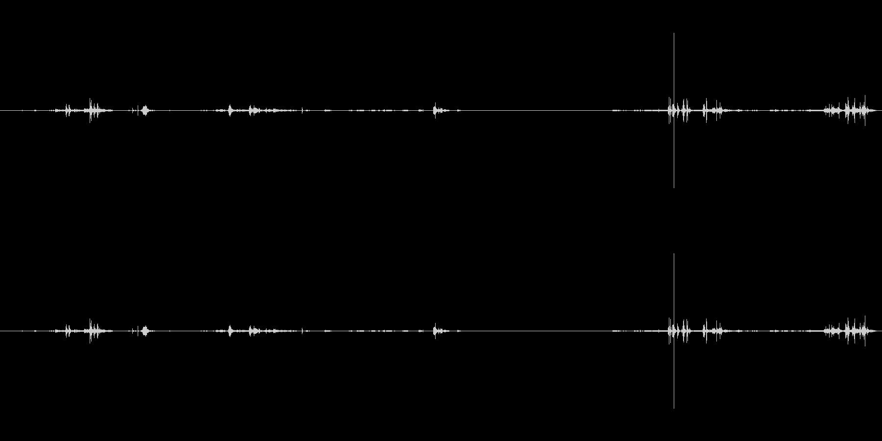 本 ブラウズ01の未再生の波形