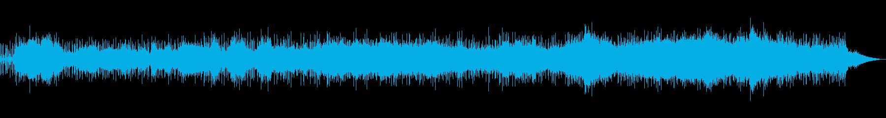 アジアンでリズミカルなアンビエントの再生済みの波形