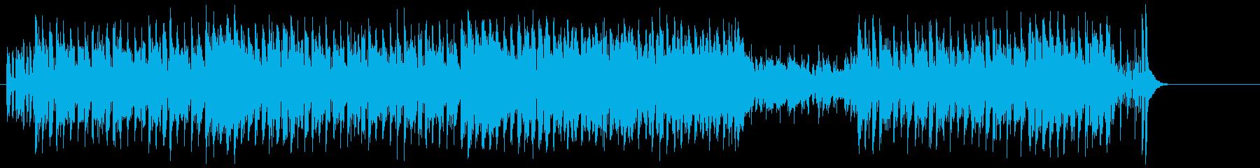 日差し眩しいフルバンド風カリビアンの再生済みの波形