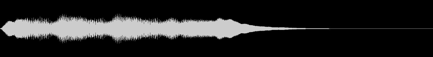 大当たりのファンファーレの未再生の波形