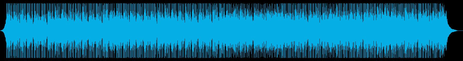 刺激的なインタビューの再生済みの波形