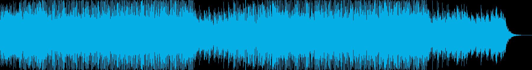 キラキラふわふわしたしっとりEDMの再生済みの波形