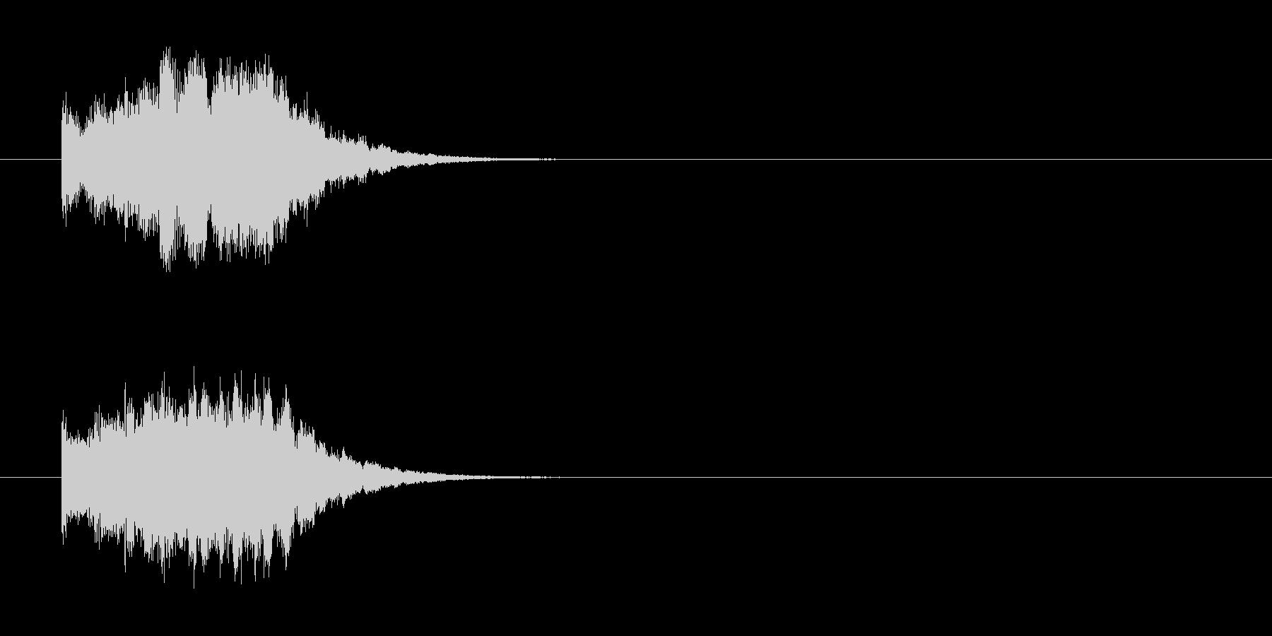 ジングル/環境(クイズ/場面転換風)の未再生の波形