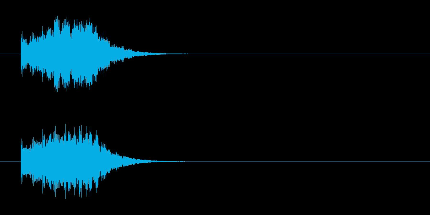 ジングル/環境(クイズ/場面転換風)の再生済みの波形